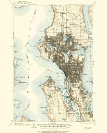 Seattle, 1908